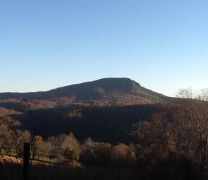 Buffalo Mountain in Floyd County Virginia