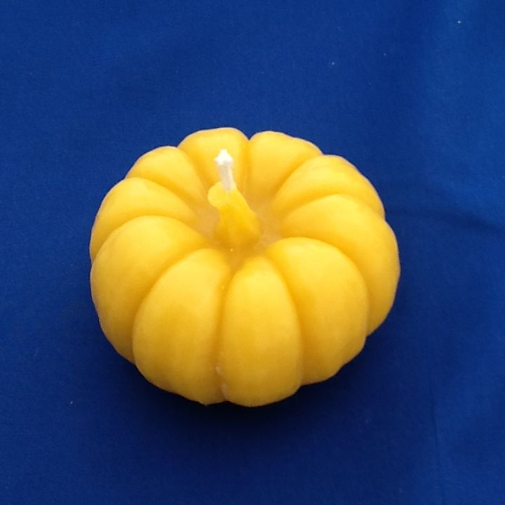 Little Pumpkin Candle Beeswax Delights